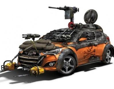 Hyundai produz modelo Zombie Survival Machine