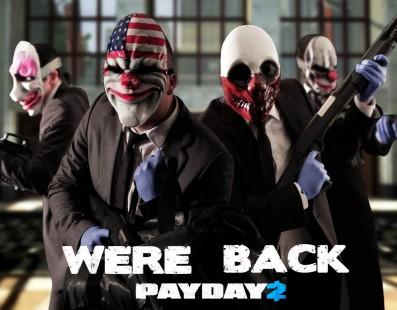 Payday 2 receberá 5 DLCs no ano que vem