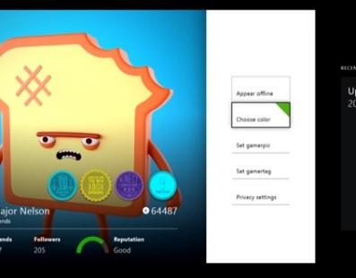 Xbox One – detalhes do aplicativo com Major Nelson, vários jogadores no Xbox Live