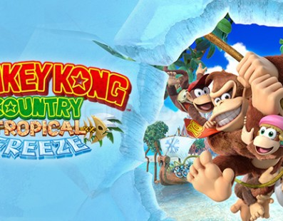 Donkey Kong Tropical Freeze é a estreia do herói no Wii U