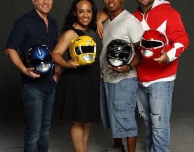 Momento Old School! Power Rangers 21 anos depois!