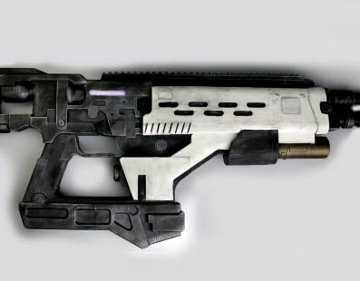 Designer cria réplica de rifle de Destiny
