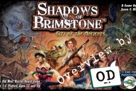 OD OnBoard : Shadows of Brimstone, onde o velho oeste encontra cthulhu