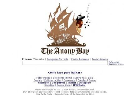 The Anony Bay: a versão nacional do The Pirate Bay