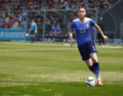 FIFA 16 conta com elenco feminino