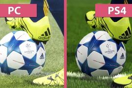 Vídeo compara PES 2016 de PS4 e PC; diferenças são assustadoras.