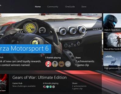 Saiba como ficará a nova interface do Xbox One
