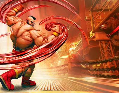 Zangief está de volta em Street Fighter V