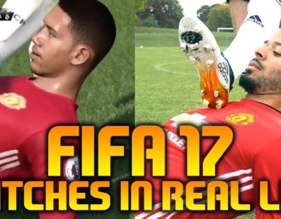 FIFA 17 Glitches na vida real