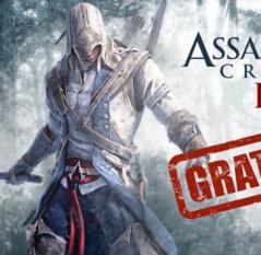 Assassin's Creed III de graça!