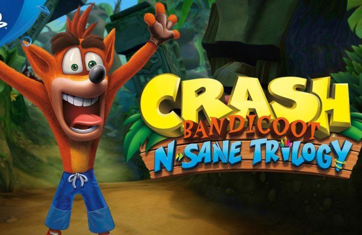 Sony exibe trailer de Crash Bandicoot no PS4