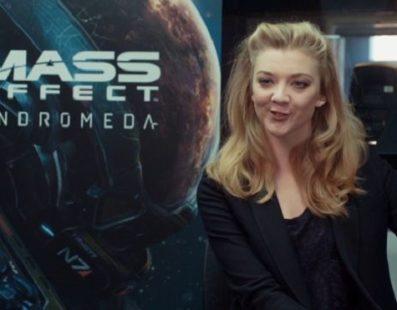 Mass Effect: Andromeda – Natalie Dormer, de Game of Thrones, dublará personagem no game