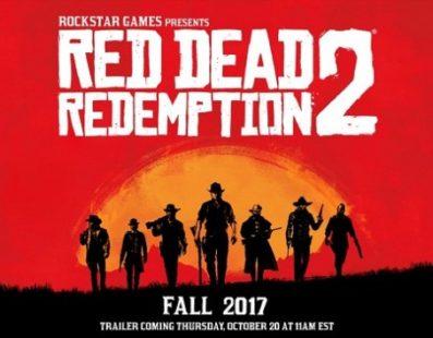 Loja indica que Red Dead Redemption 2 será lançado em outubro