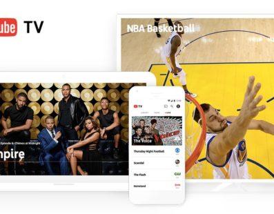"""Google divulga """"Youtube TV"""" a nova concorrente das TVs por assinatura."""