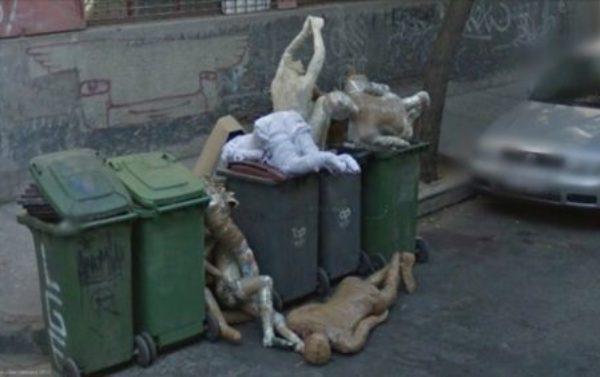 Imagens assustadoras encontradas no Google Street