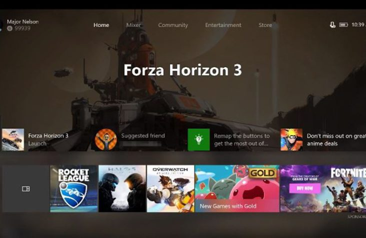 Xbox One ganha nova Dashboard