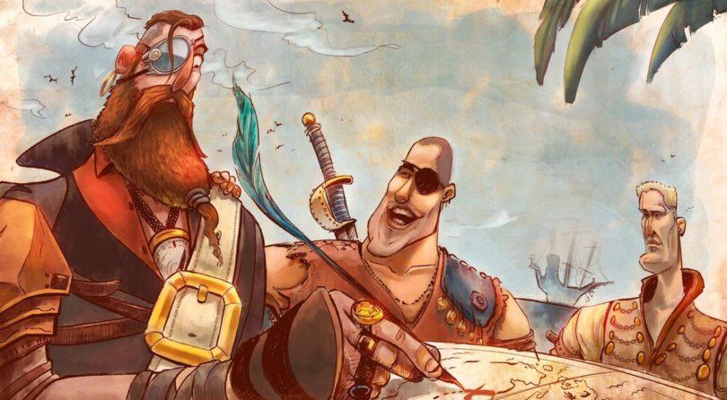 As Aventuras do Pirata Zulmiro um HQ com uma história muito Fantástica