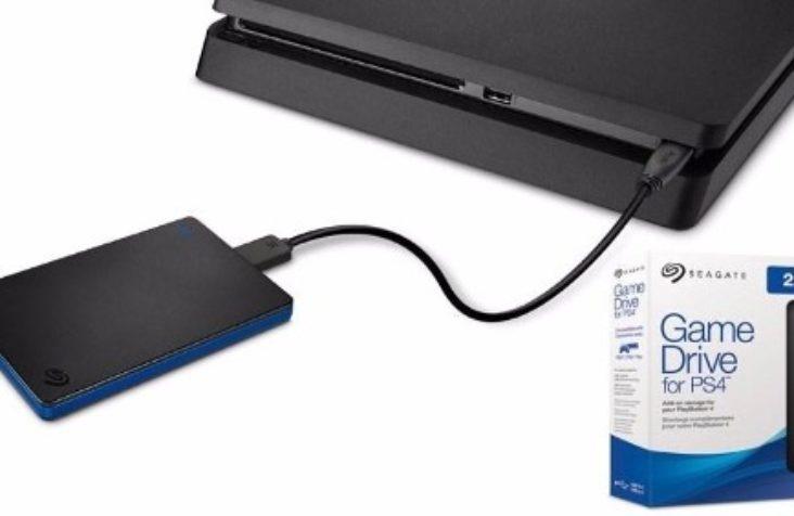 Seagate Game Drive, um disco externo para Playstation de 2TB